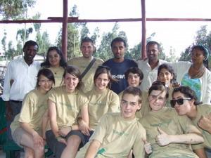 Volunteers in Ethiopia
