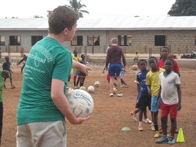 Volunteer Coaching Sports in Africa with Projects Abroad