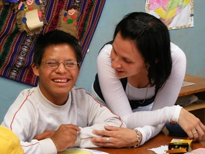 Volunteer with speical needs children in Peru with Projects Abroad
