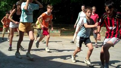 Volunteer Coaching Sports in Eastern Europe with Projects Abroad
