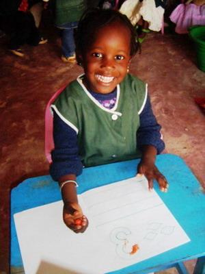 Child in Sénégal