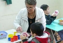 Missions de volontariat au Vietnam : Ergothérapie